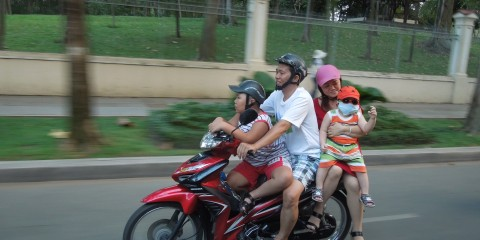 Ho Chi Minh City (Saigon) November 2014