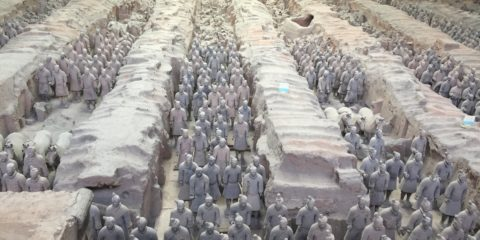 Xi'an China- Terra Cotta Warriors (May 9, 2017)