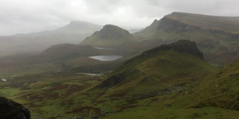 Hiking in the Scottish Highlands with a broken toe (September 2018)