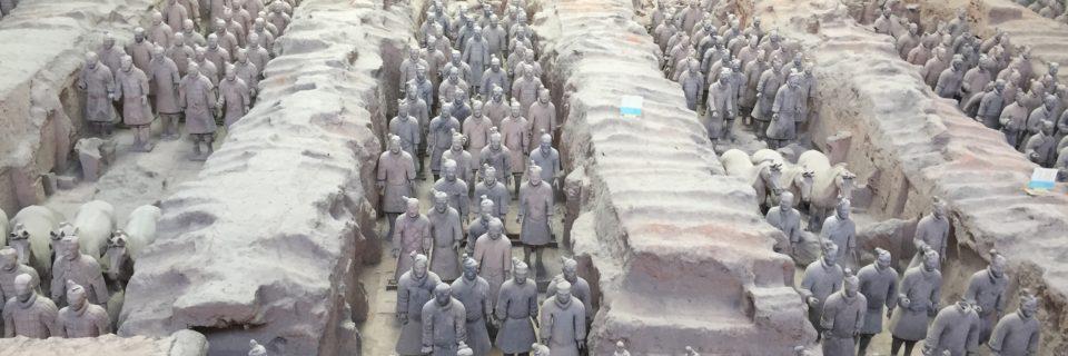 Xi'an China- Terra Cotta Warriors (May 9, 2017)